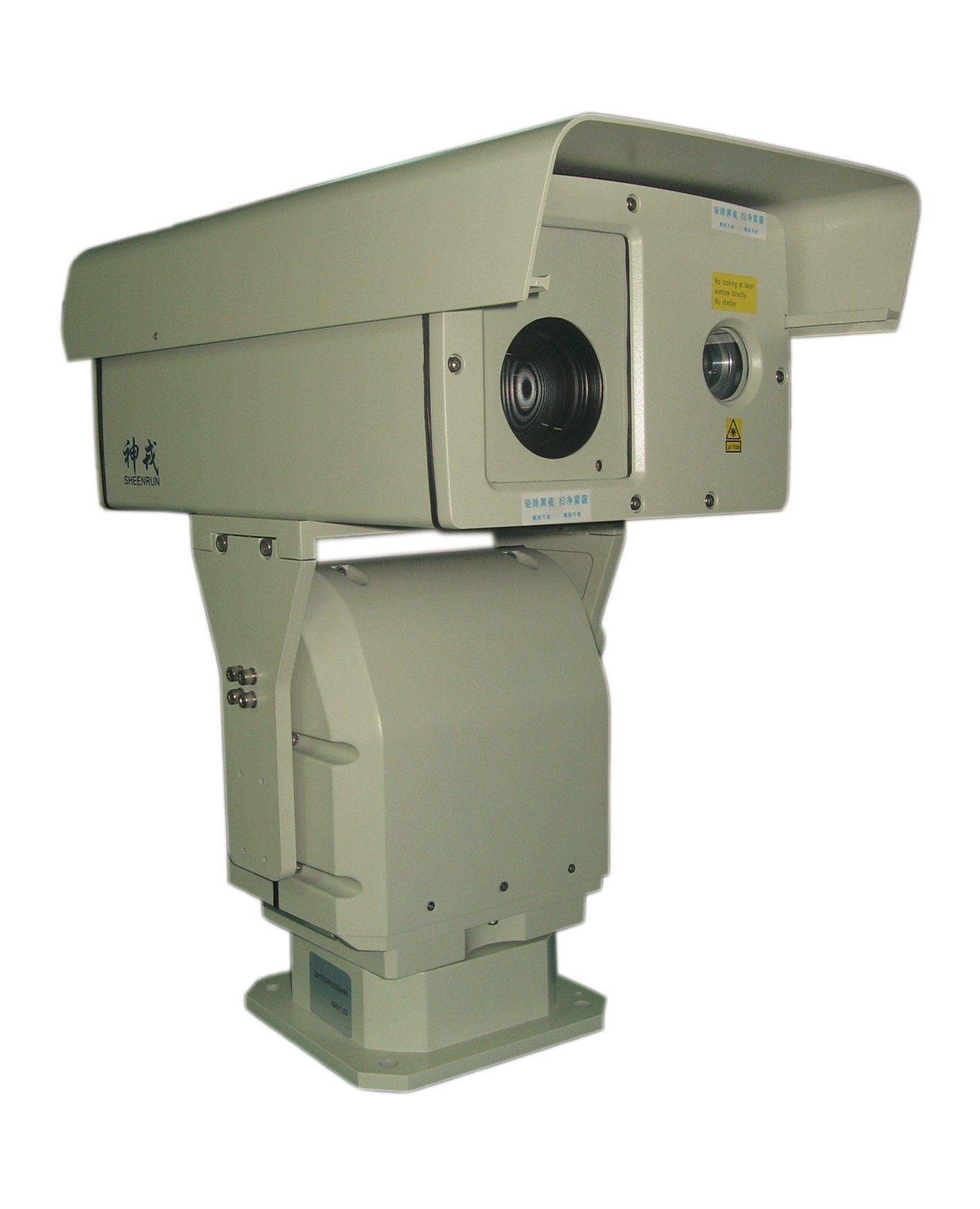 China Oil Field Used 3km HD Long Range PTZ Laser Night Vision Camera