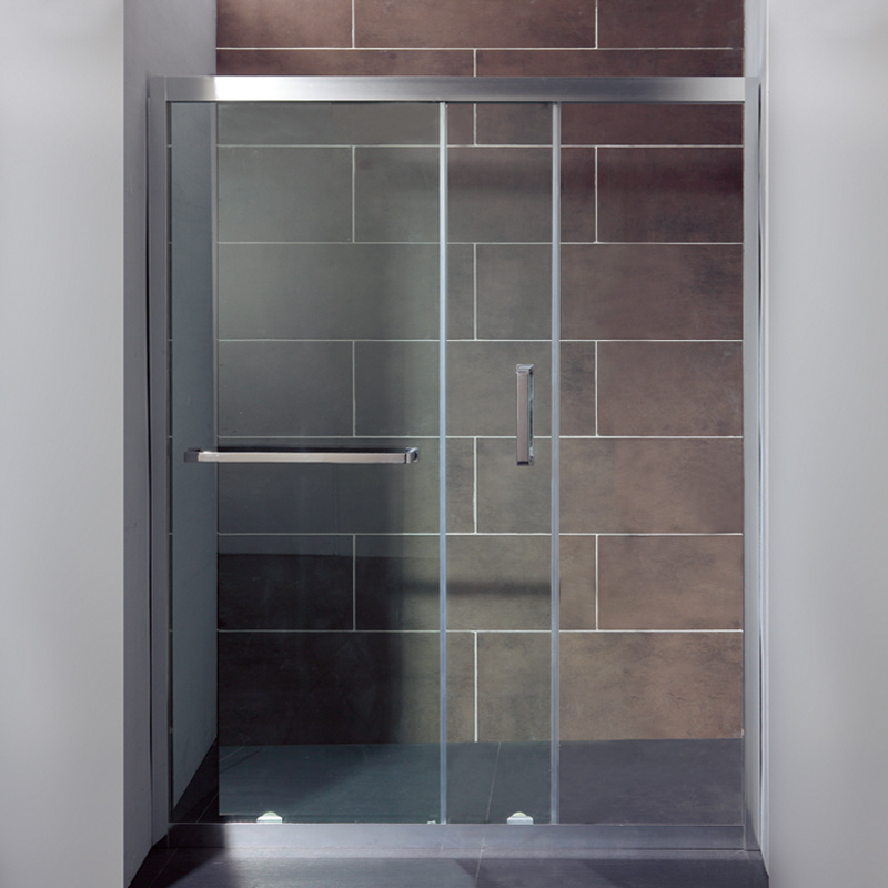 China Cheap Price Frameless Hinged Door Straight Shower Enclosure ...