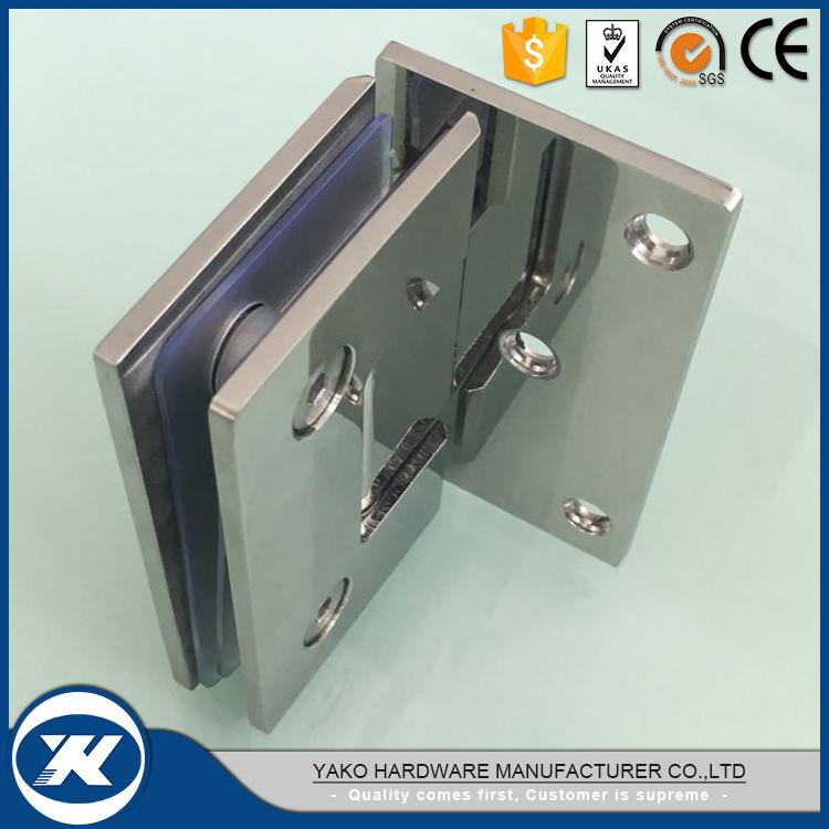 China Stainless Steel Door Clamp Pivot Bathroom Glass Door Shower