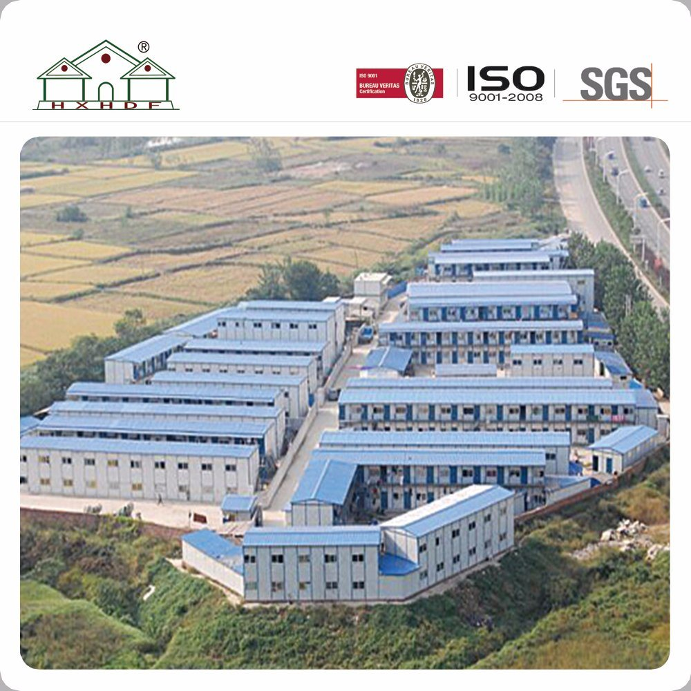 China Container House for Labor Camp with Kitchen / Toilet / Clinic ...