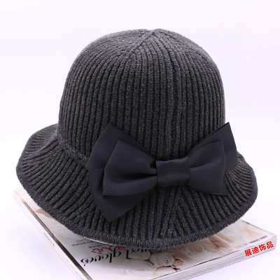 8a305593dbc China Hot Sale Custom Bucket Hat Fashion Ladies Hat Winter Cap ...