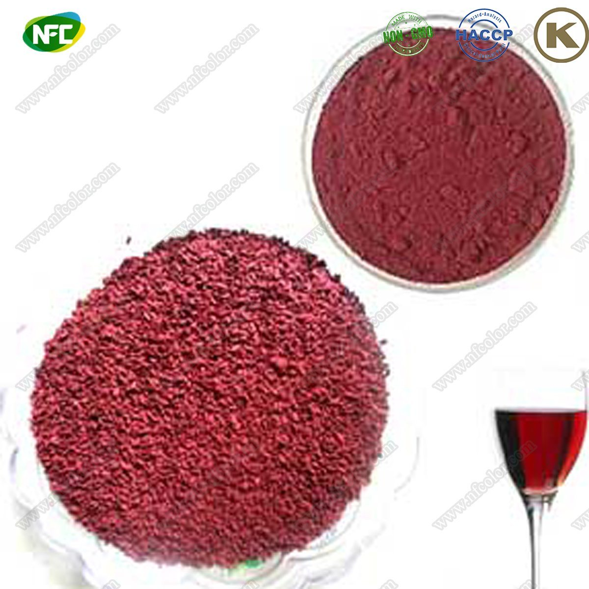 China Direct Dyestuff Natural Food Colour Monascus Red Pigment with ...