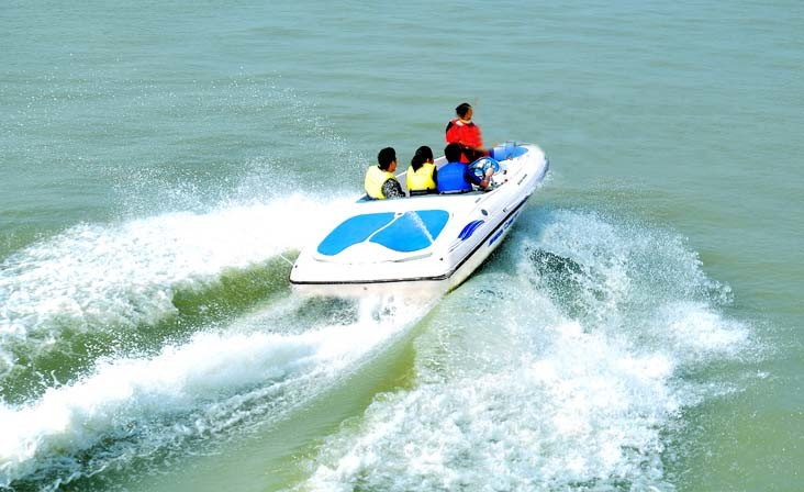Dohc Engine 115HP Speed Boat pictures & photos
