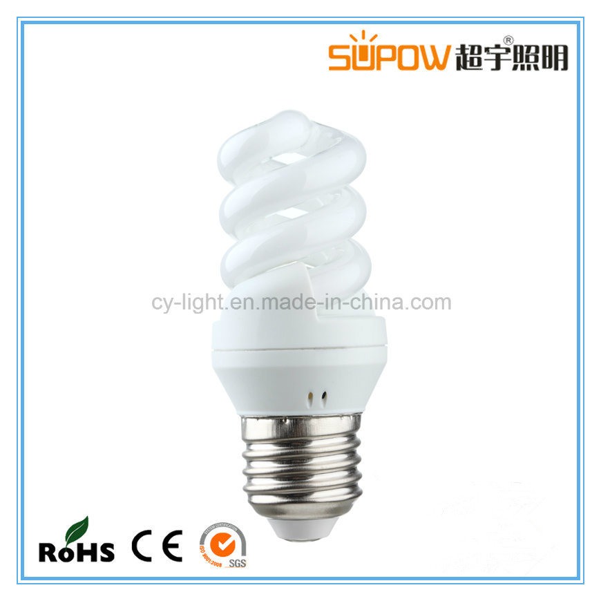 E27 B22 T4 8W 11W 15W 18W Energy Saving Lamp, Full Spiral ESL/CFL