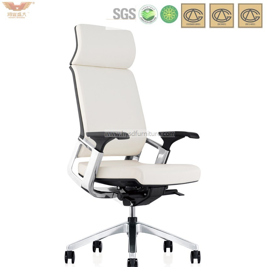 China Ergonomic Headrest Home Office Chair High Back Leather Excutive Chair Ak 01 China Office Chair Home Office Chair