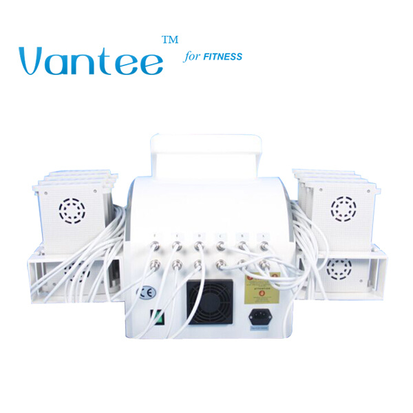 528 Diodes Four Wavelength Lipolaser Fat Remove Device with 12 Pads