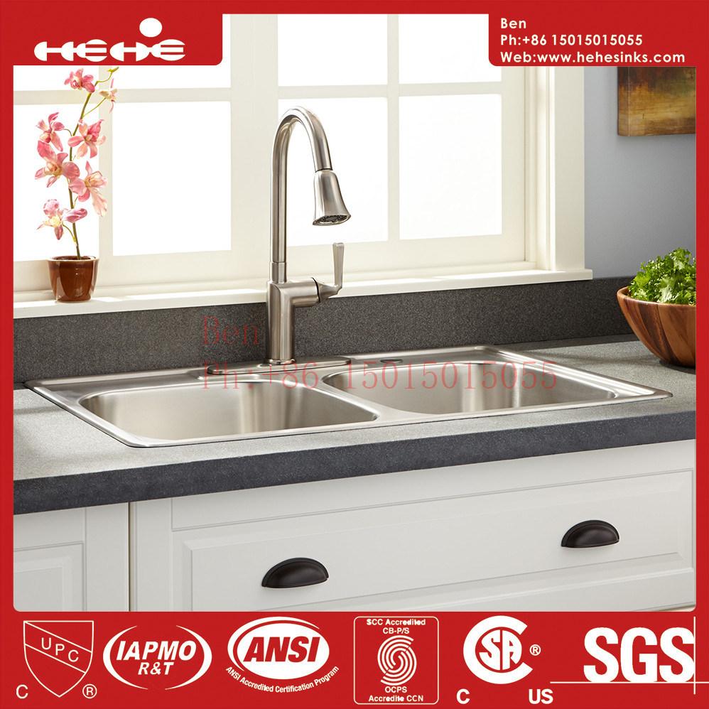 China Stainless Steel Kitchen Sink, America Standard Drop in Sink ...