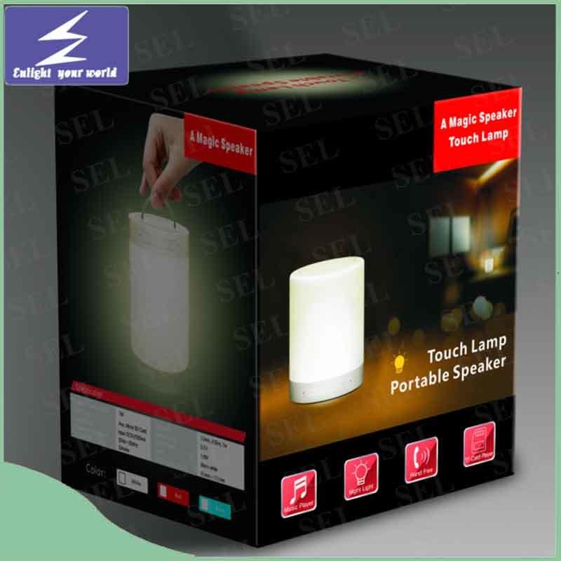 China 2016 Hot Product Music Portable Led Desk Lamp With Bluetooth Speaker China Led Light Led