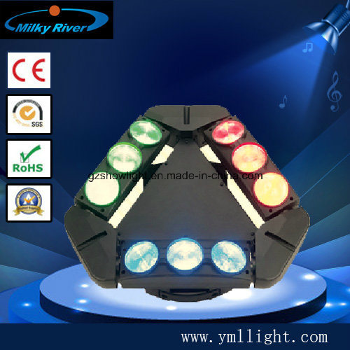 8PCS 3W 2eyes White 2 Eyes Red 2eyes Green 2 Eyes Blue LED Mini Stage Spider Light pictures & photos