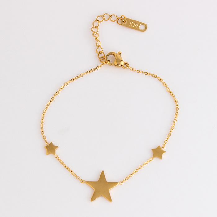 7fb99535d New Micro Jewellery Drop Star Bracelet Steel Diamond Models in Gold - China  Bracelet Steel Diamond, Bracelets Models in Gold | Made-in-China.com