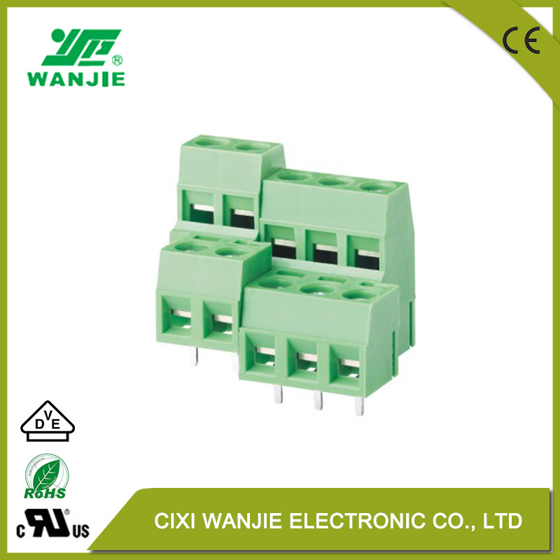 China PCB Double Row Terminal Block with High Temp. Wire Connector ...