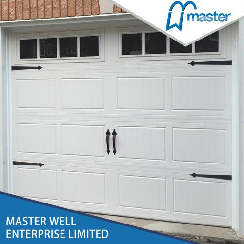 [Hot Item] Good Insulation Steel Sectional Garage Door with PU Foamed Inside