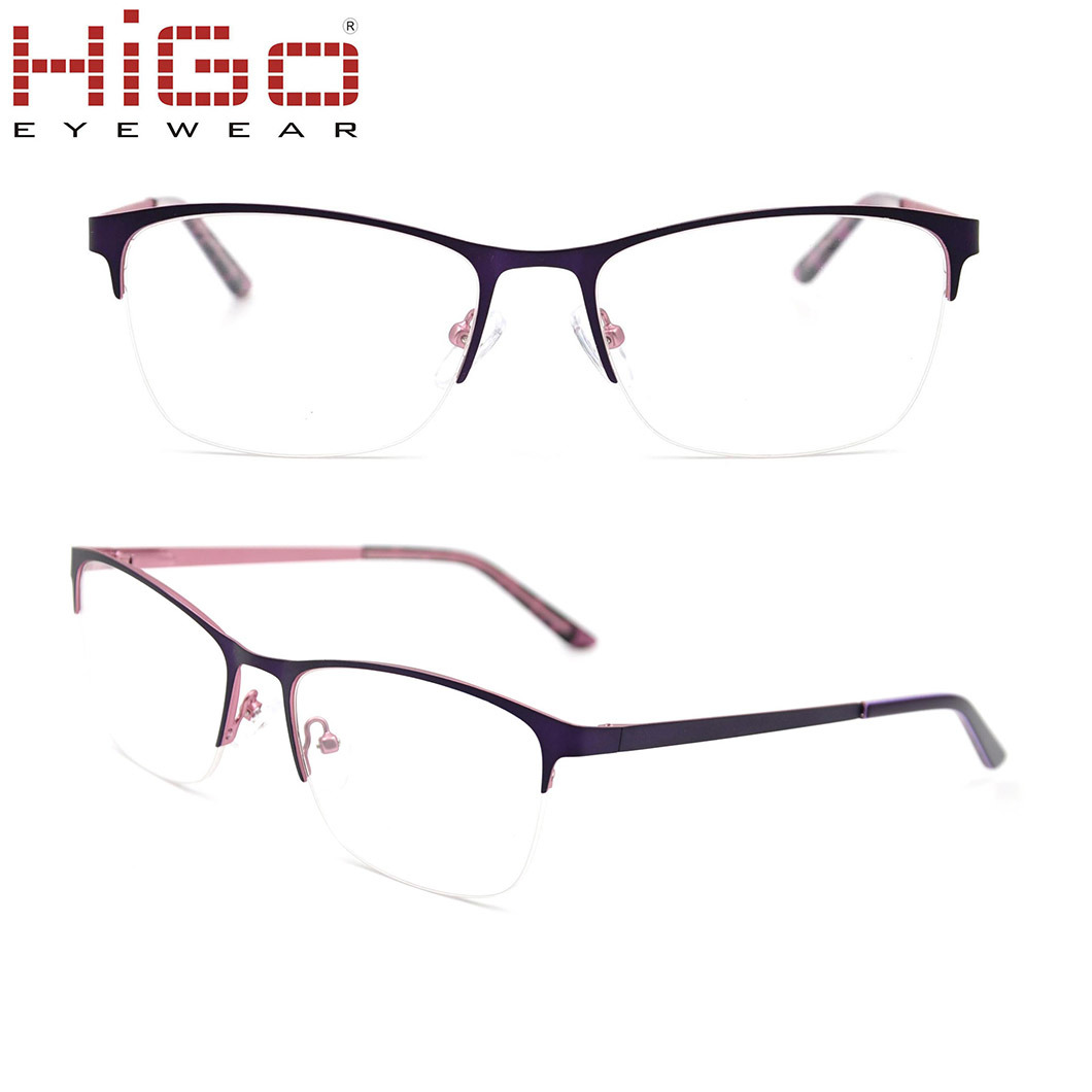 China Pictures Eyeglasses Frame Optical Wholesale Ready Stock Metal ...