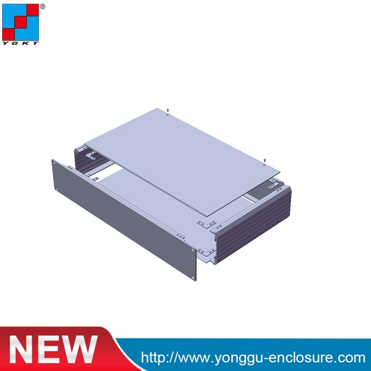 China 482*89*250mm (WxH-L) Aluminum Enclosures Rack Cabinet