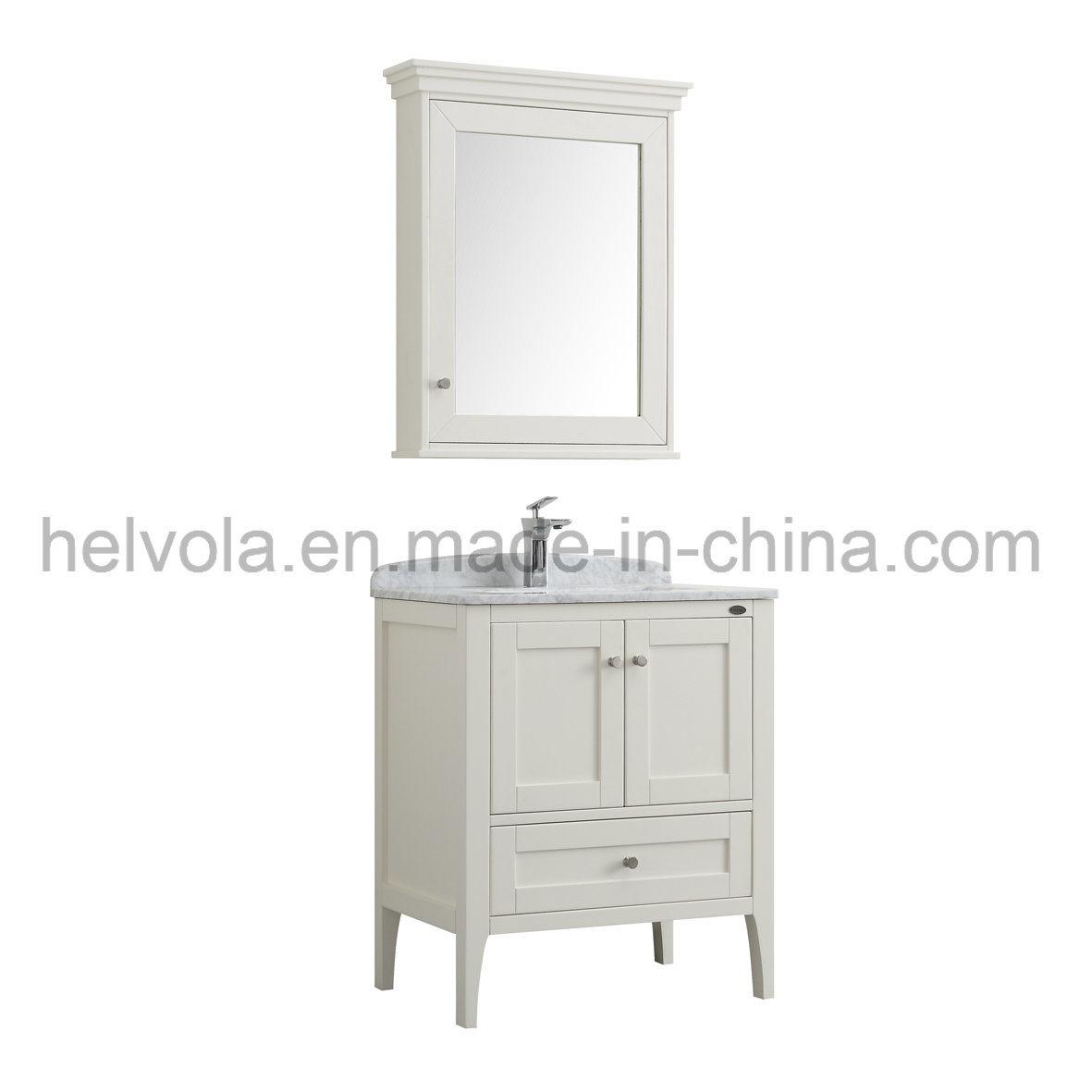 China Sanitary Ware Bathroom Basin Accessories Cabinet Solid Wood ...