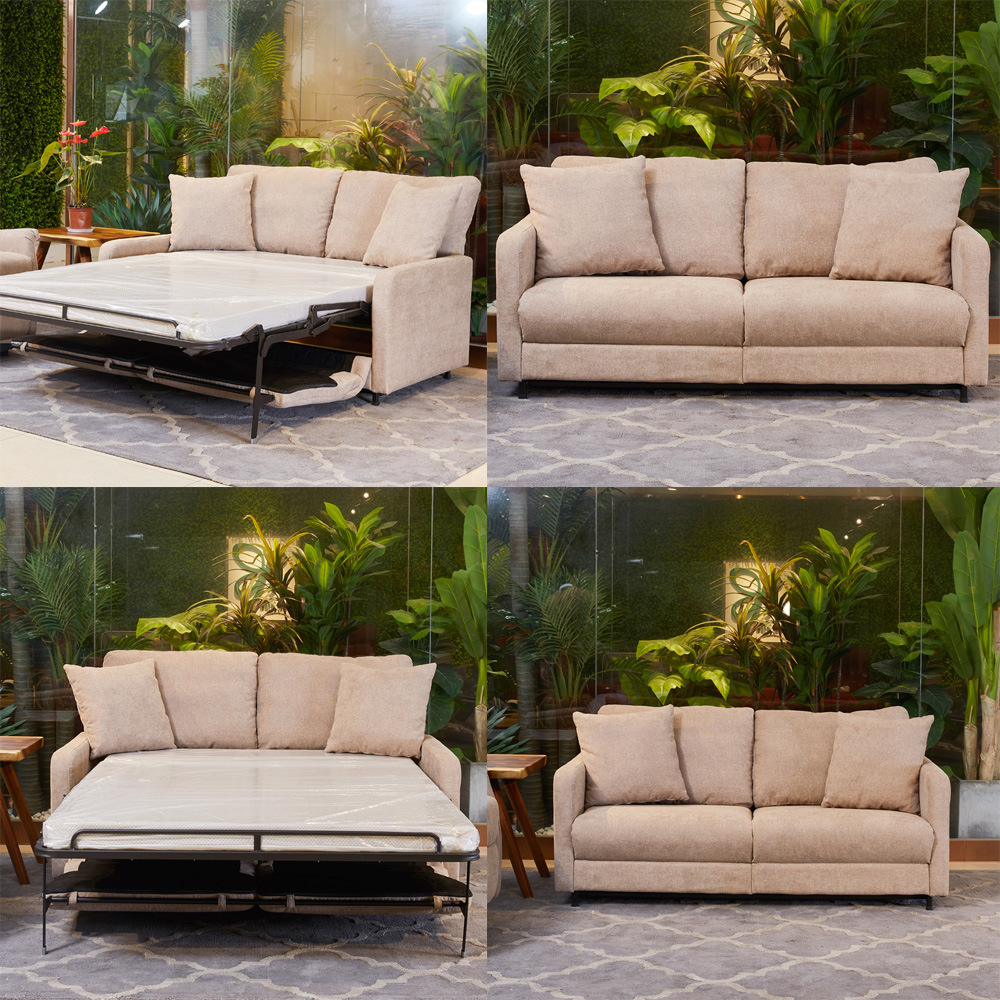 Hot Item 2019 Sofa Conversion Bed Foldable Double