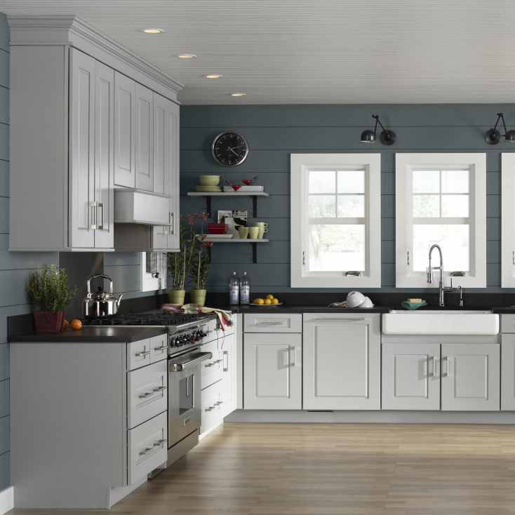 China White Shaker Collection Apartment Kitchen Cabinets China Cabinet Kitchen Cabinet