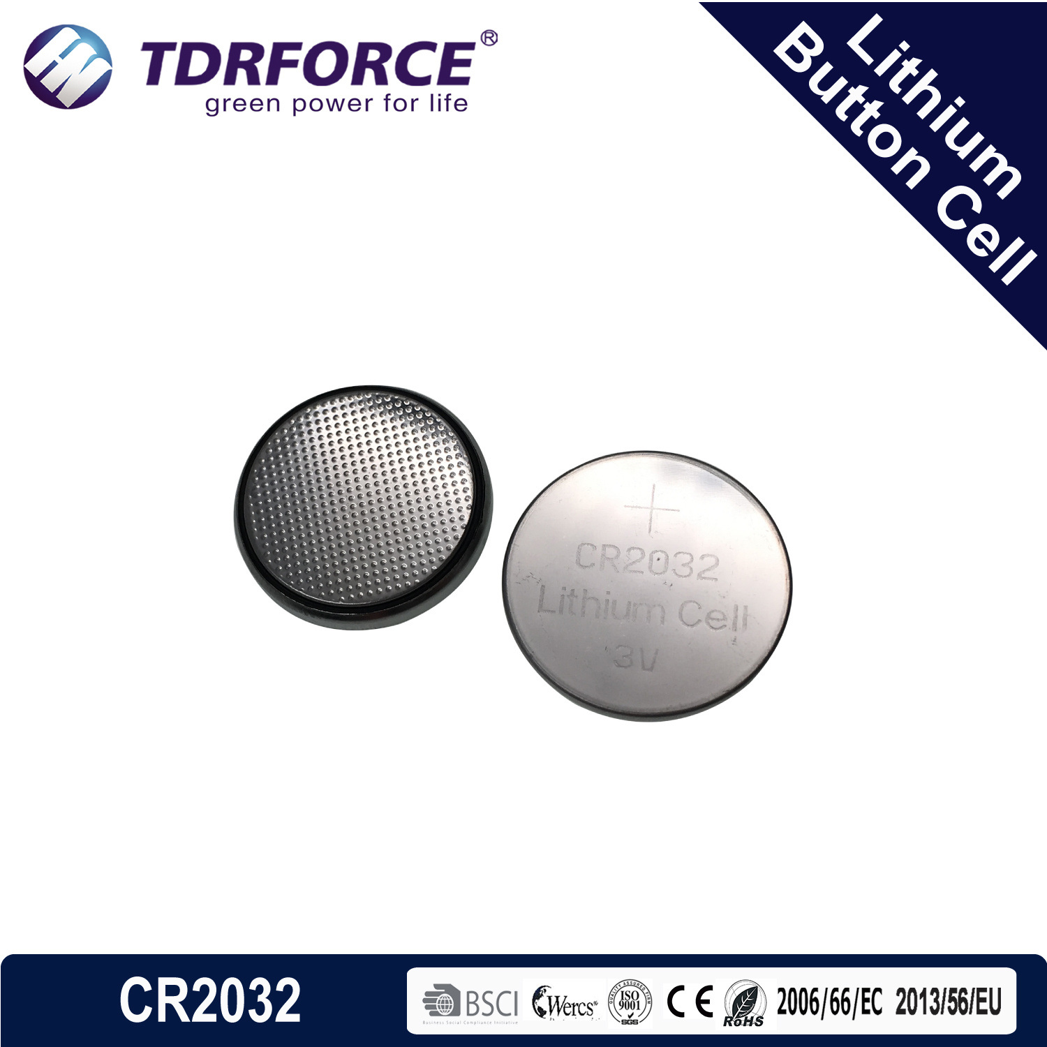 CR3032 to CR2032 Battery Adapter