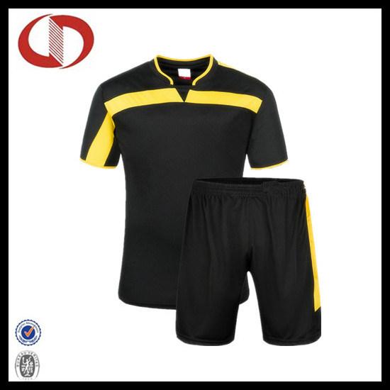 a603fe9dc14 China Custom Made Short Sleeve Football Jersey and Soccer Jersey ...