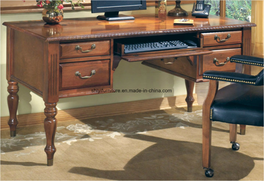 china antique desk office furniture table wood desk classic office