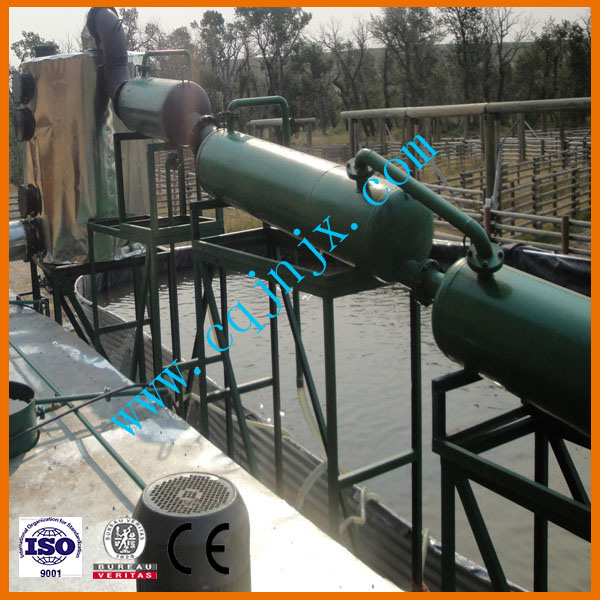 China Mini Modular Crude Petroleum Oil Distillation To Diesel