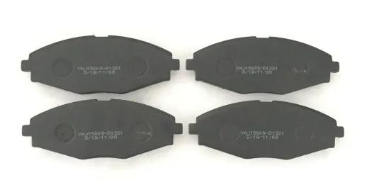 Complete Set of Front Semi Metallic Brake Pads fits Chevy Daewoo Pontiac Suzuki