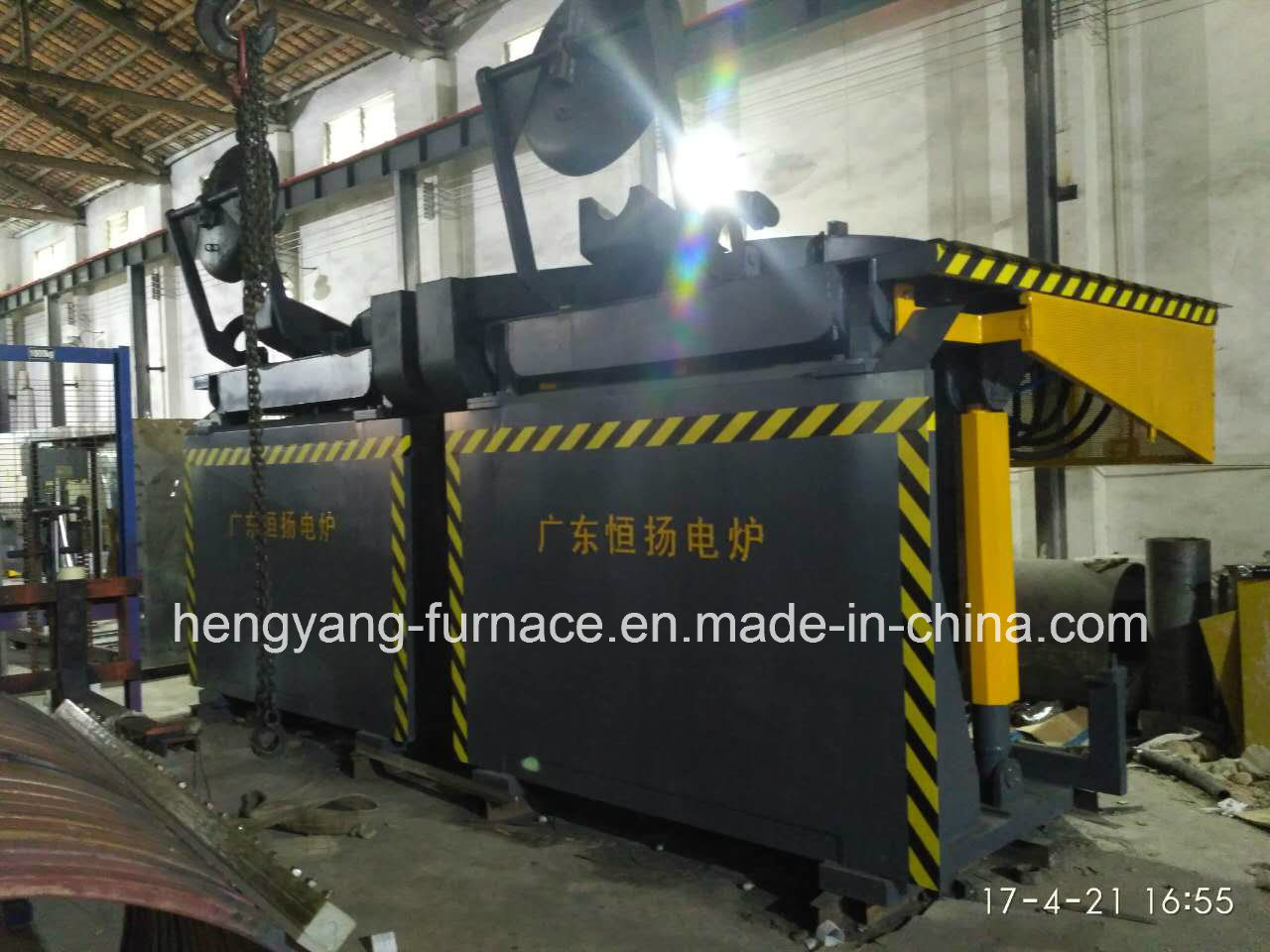 Melting Iron Induction Furnace
