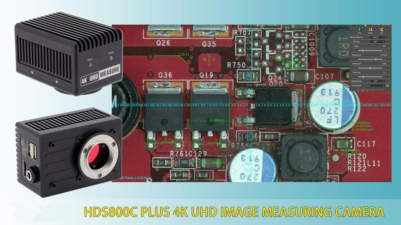 China Hds800c Plus 4k Uhd Image Measuring Camera China Excellent Thermal Noise Suppression Features Pixel Size 1 85um