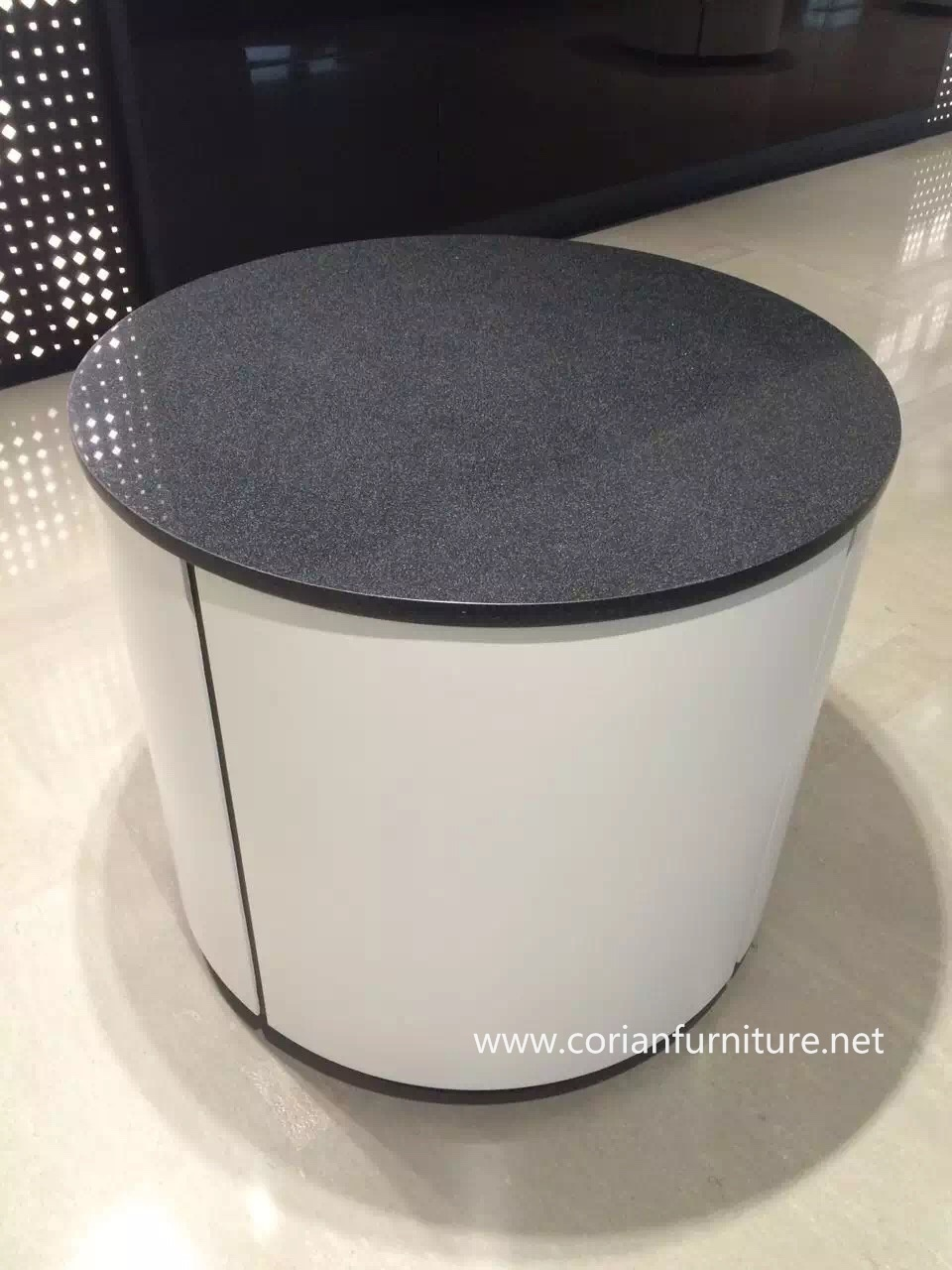 Acrylic Solid Surface Round Table Top pictures & photos