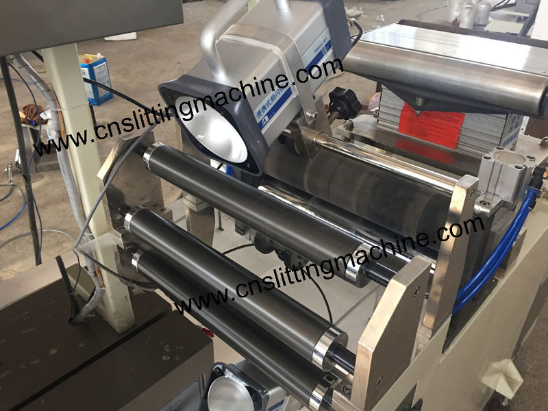 Inspecting and Rewinding Machine for Sleeve PVC