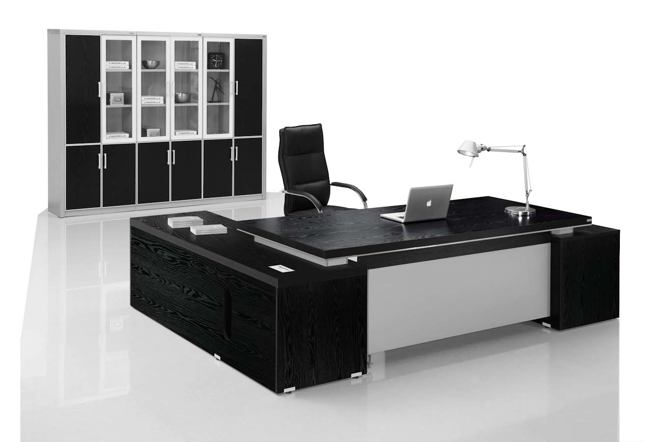 Image of: China Foshan Luxury Office Table Executive Desk Wooden Furniture China Office Furniture Office Desk