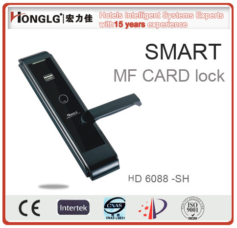 Popular Hotel RF Card Electronic Door Lock (HD6088)