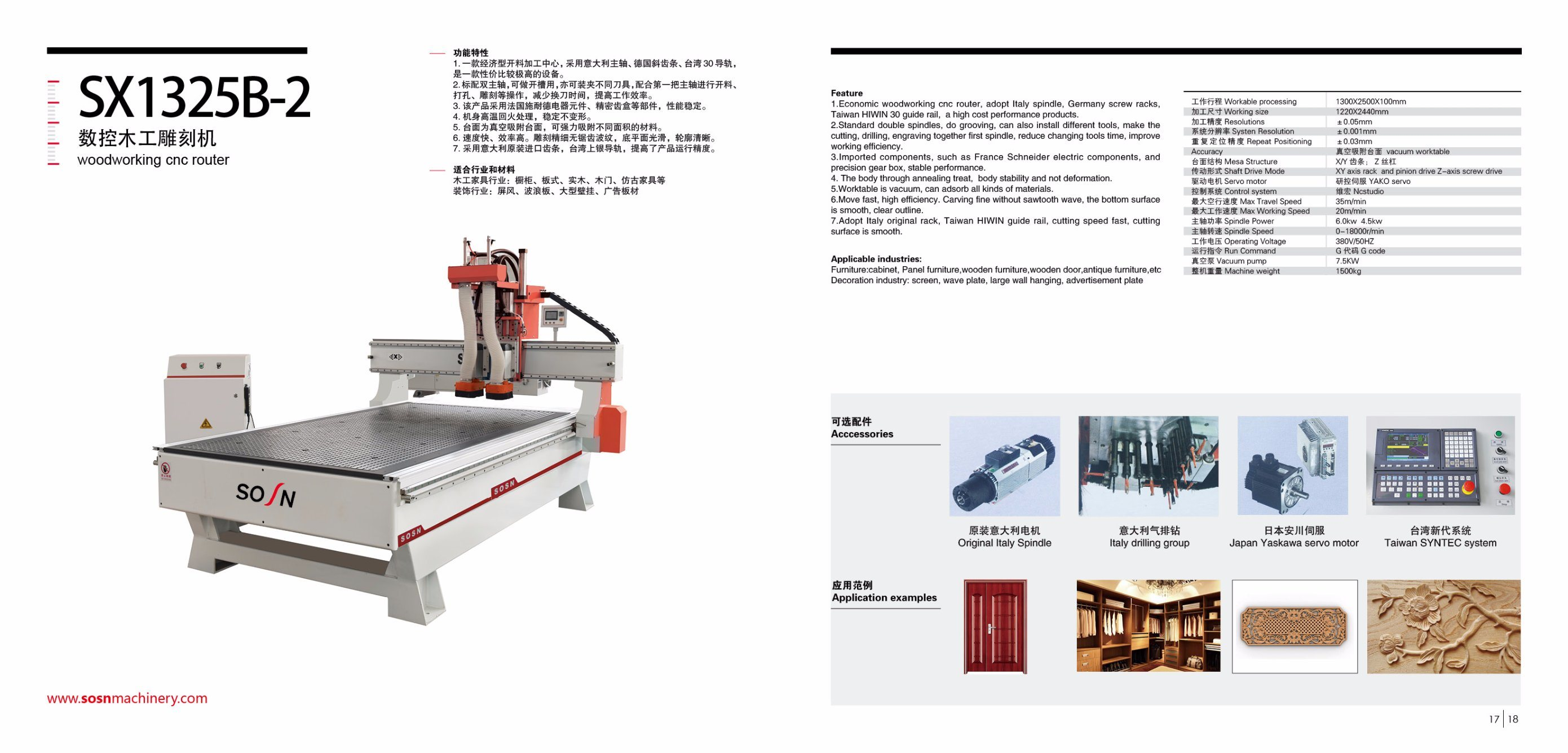 [Hot Item] Woodworking CNC Router for Wood Engraving Machine