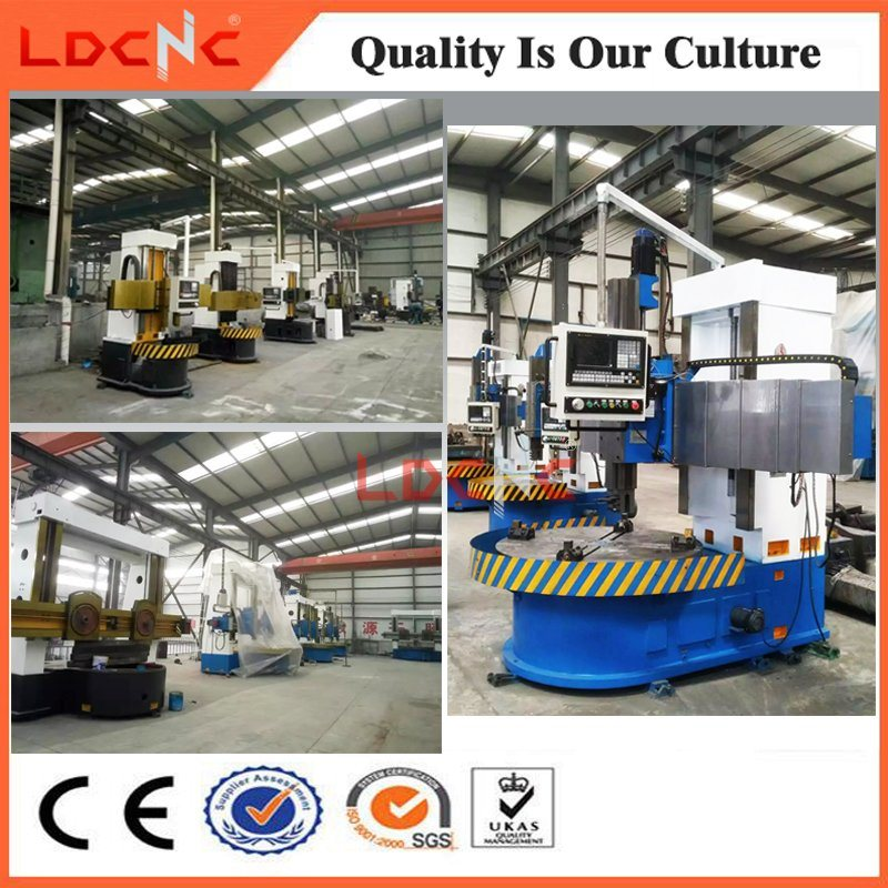 C5235 Chinese Double Column Manual Vertical Lathe for Sale