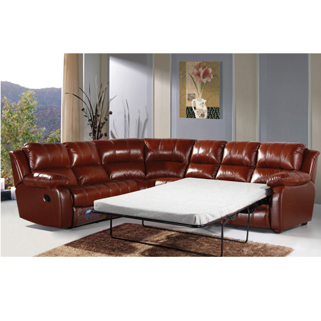 China Red Leather Recliner Sofa Rocker Recliner Sofa Bed 6005C ...