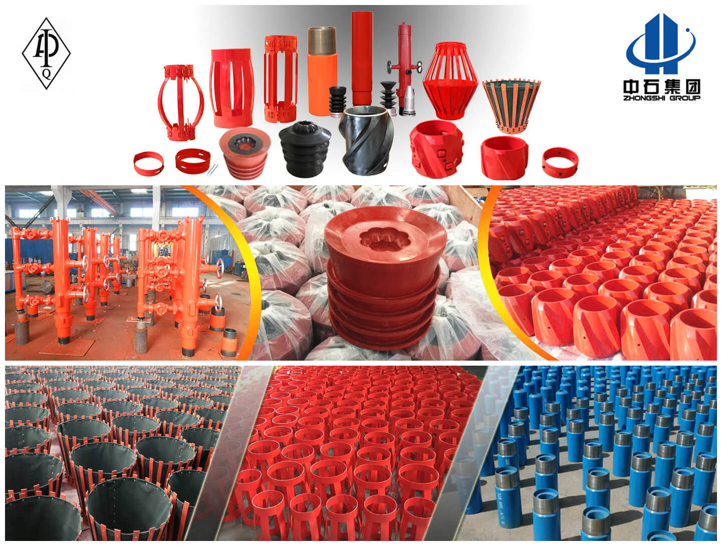 Cast Aluminum Casing Centralizer, Rigid Casing Pipe Centralizer