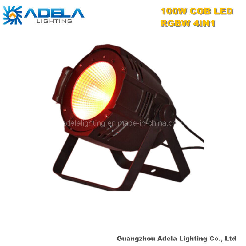 100W RGBW 4in1 LED COB PAR