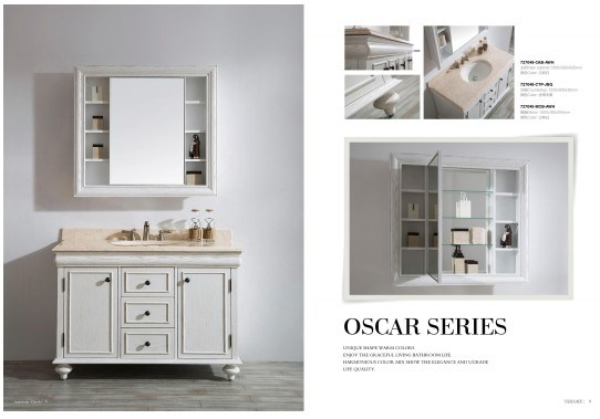 Oscar Series Style Bathroom Cabinet
