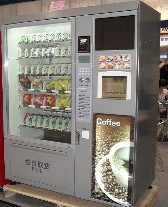 Vending Machine and Coffee Maker LV-X01