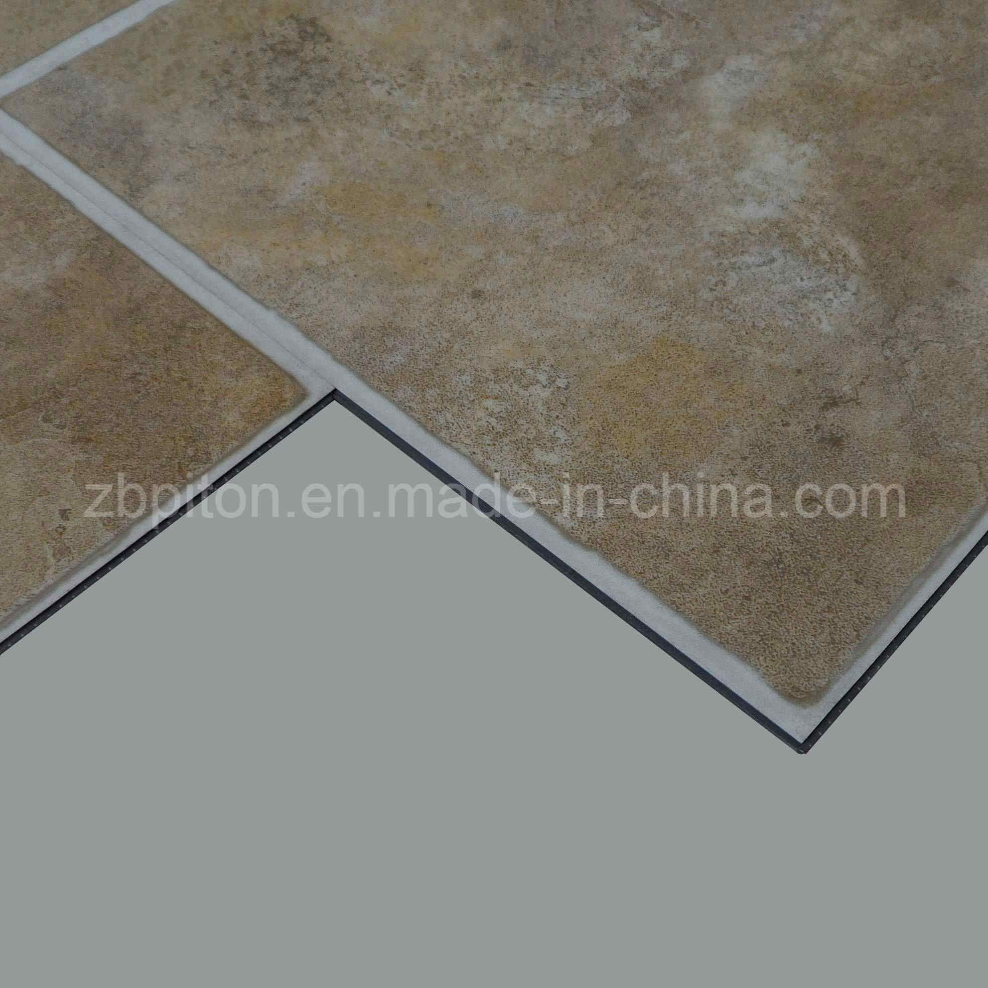 China Easy Install Click Pvc Vinyl Floor Tile China Pvc Vinyl
