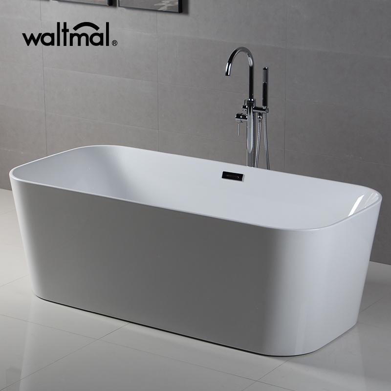 China Narrow Rim Border New Design Freestanding Bath Photos ...