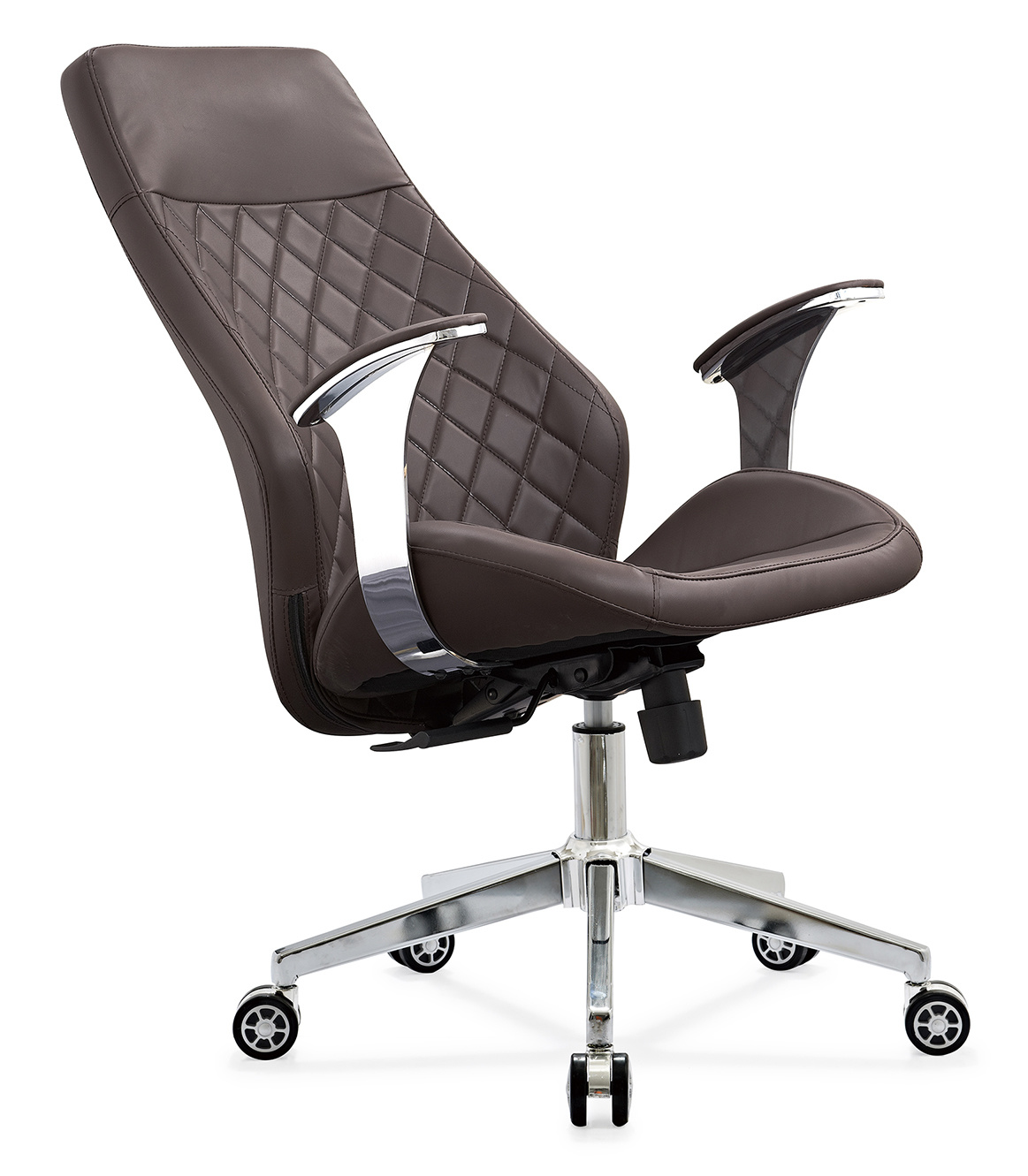 [Hot Item] General Use Traditional Office PU Leather Computer Task Chair,  High-Back Office Chair, Home Office Desk Chair