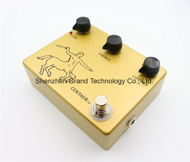 Clone Klon Centaur Gold Overdrive Guitar Pedal (JF-63) pictures & photos