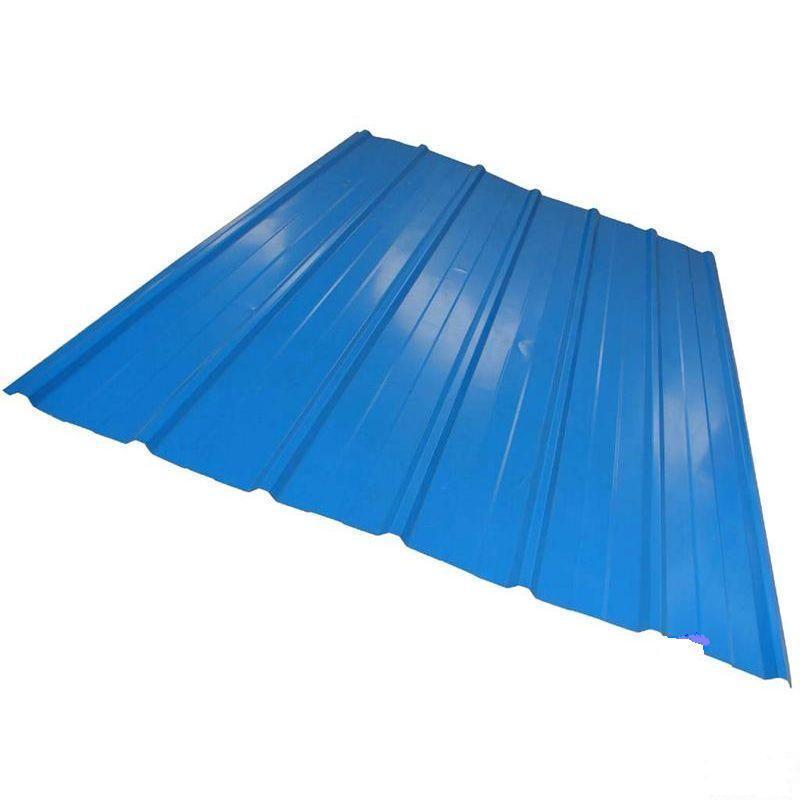 China Color Galvanized Corrugated Steel Sheet China