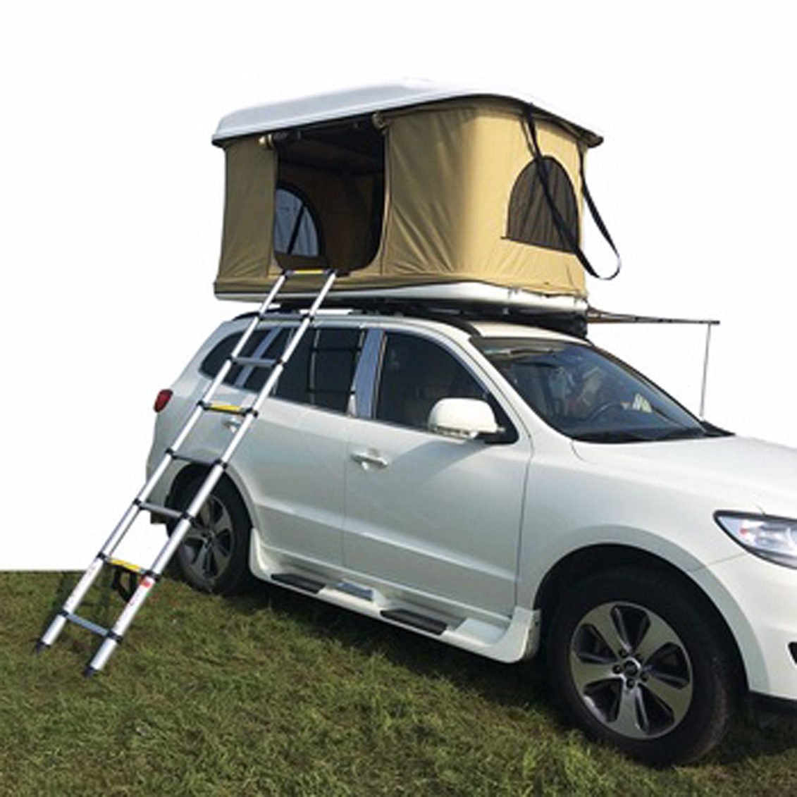 separation shoes a6acd b963e [Hot Item] Pop-up Car Top Tent Canvas Hydraulic Roof Top Tent