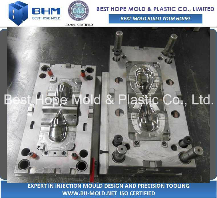 Mirror Polishing PVC Oxygen Mask Injection Plastic Mould / Mold pictures & photos