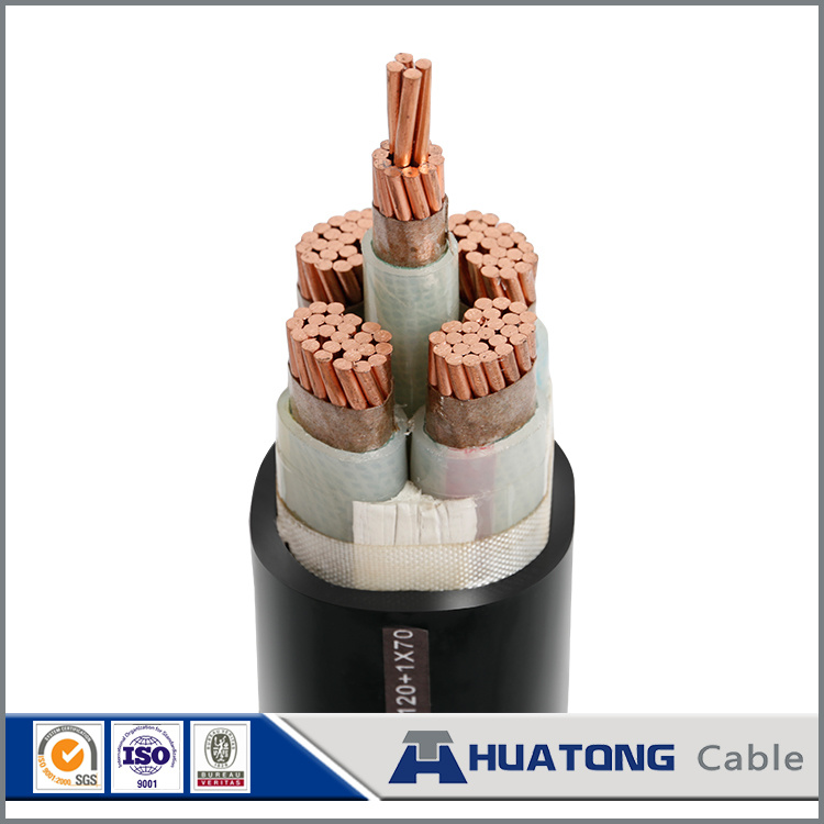 0.6/1kv Cu Conductor PVC Isnulation Steel Tape Power Cable