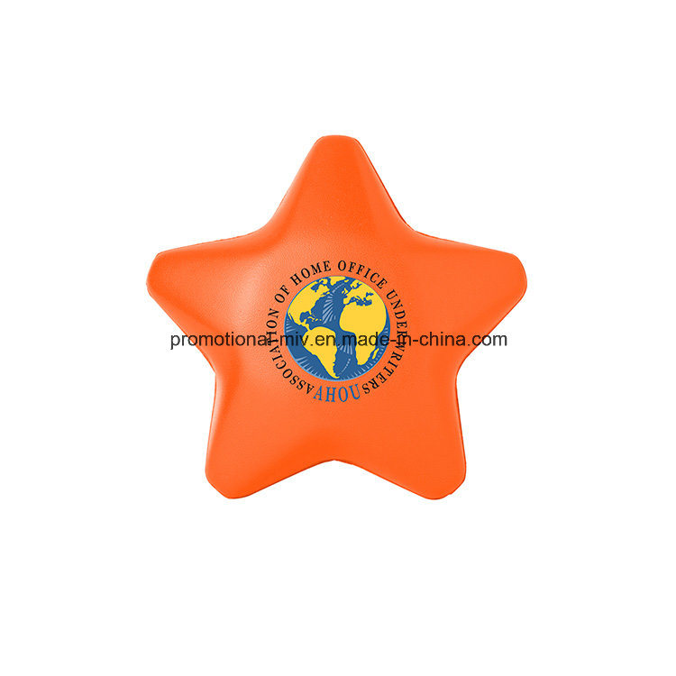 Promotional Stress Ball PU Toys Stress Star Shaped Toys