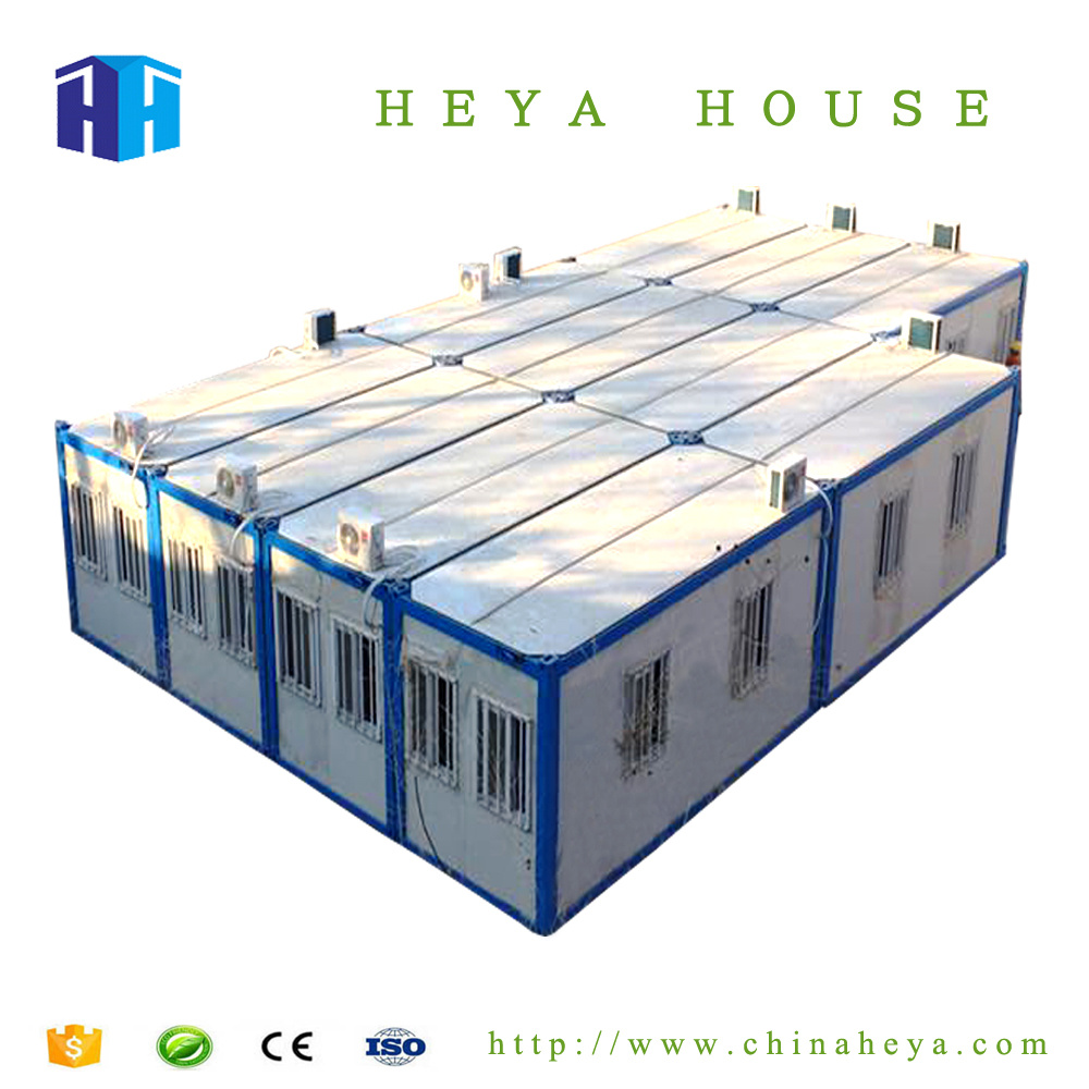 China Prefabricated Steel Frame Shipping Container House Floor Plans ...