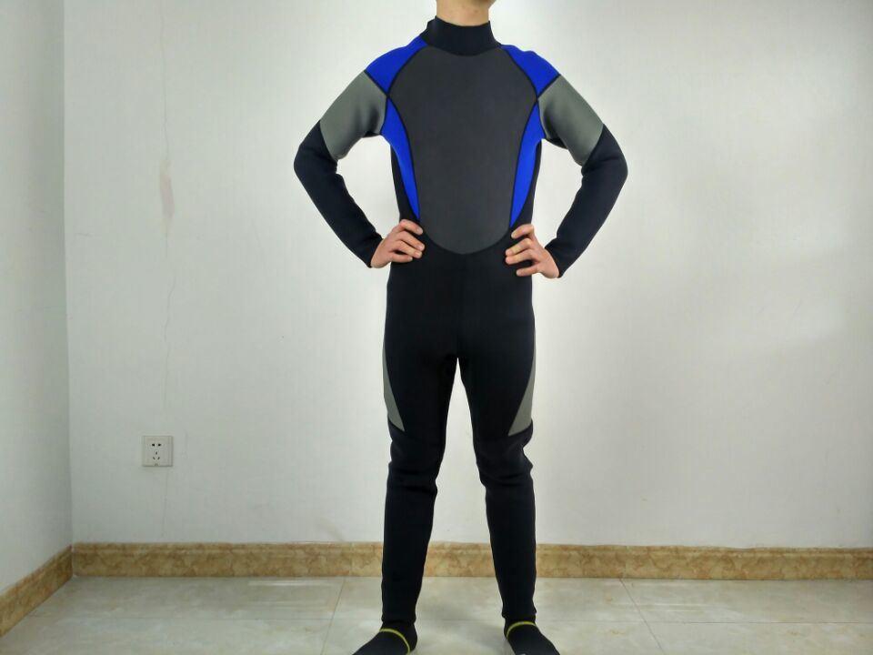 e6f8148035 China Full Body Sportswear Neoprene Nylon Wetsuit for Men′s for Diving -  China Elasticity Neoprene Material Surfing Wetsuit